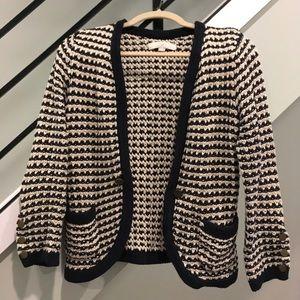 LOFT sweater blazer
